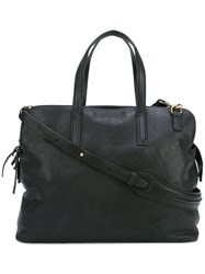 Officine Creative Arman Tote Women Buffalo Leather One Size Black