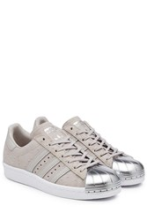 Adidas Originals Superstar 80S Suede Sneakers Grey