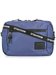 Makavelic Bi Layer Pouch Bag Blue
