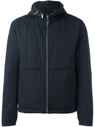 Hugo Boss 'Calver' Hooded Jacket Blue