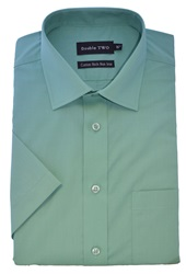 Double Two Short Sleeved Shirt Green