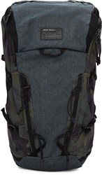 Diesel Blue Denim And Camo D Running Backpack