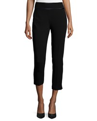 Haute Hippie New Hayley Cropped Pants Black Black Black