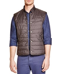The Men's Store At Bloomingdale's Quilted Puffer Vest Heather Charcoal