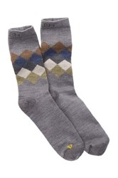 Keen Camden Light Crew Sock Gray