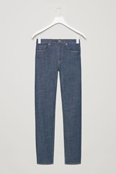 Cos Cropped Skinny Fit Jeans Blue