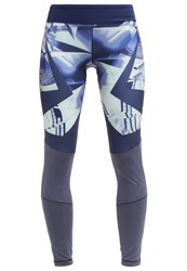 Adidas Performance Wow Tights Utility Blue Collegiate Navy Light Blue