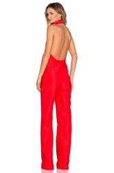 Aq Aq Hero Jumpsuit Red