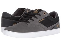 Dvs Shoe Company Pressure Sc Grey Charcoal Skate Shoes Gray
