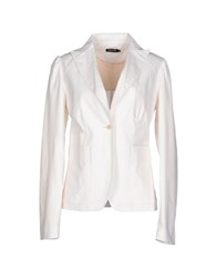 Amy Gee Suits And Jackets Blazers Women White