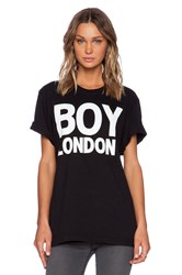 Boy London Tee Black