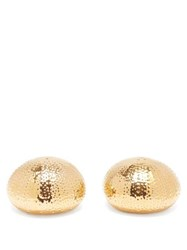 Aerin Sea Urchin Salt And Pepper Shakers Gold