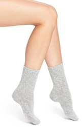 Women's Lemon 'Country House' Crew Socks Grey Frost