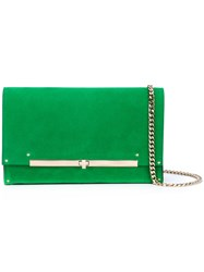 Casadei Shoulder Bag Women Chamois Leather Nappa Leather One Size Green