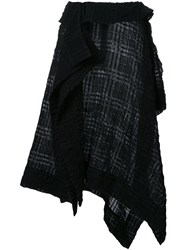 Forme D'expression 'Kerchief' Skirt Black