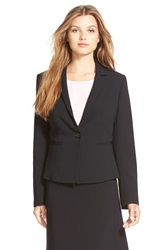 Ellen Tracy One Button Blazer Regular And Petite Black