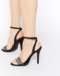 Call It Spring Adouilda Barely There Heeled Sandals Black