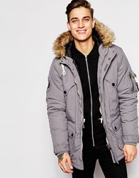 Fly 53 Parka Coat Blue