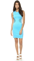 Clover Canyon Laser Cut Dress Sky Blue