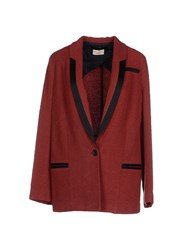 Momoni Momoni Suits And Jackets Blazers Women Brick Red