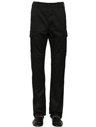 Balenciaga Cotton Blend Cargo Pants Black