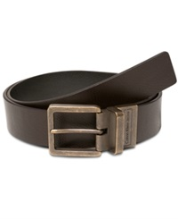 Calvin Klein Jeans 38Mm Reversible Casual Belt Black Brow