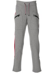 Rossignol Tricolour Patch Pants Cotton Polyester Grey