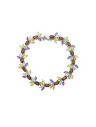 Lord And Taylor Multi Stone Marquise Cut Bracelet