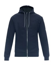Huez Zip Through Hooded Sweatshirt