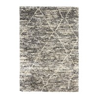 Calvin Klein San Antonio Rug Charcoal Ivory Black And White