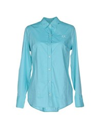 Fred Perry Shirts Shirts Women Turquoise