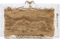 Charlotte Olympia Clear Pandora On The Rocks Clutch