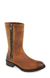 Women's Johnston And Murphy 'Lyla' Boot Tan Oiled Nubuck