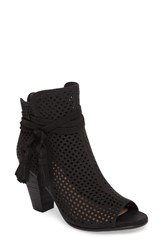 Vince Camuto Women's Kamey Perforated Open Toe Bootie