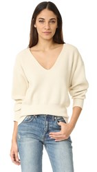 Free People Allure Pullover Ivory