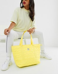 Opening Ceremony Quilted Medium Chinatown Tote Yellow