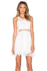 Lovers Friends X Revolve Play Date Fit And Flare Dress White