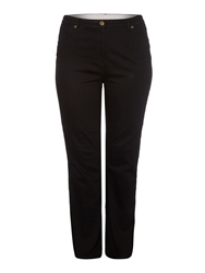 Dickins And Jones Buckingham Straight Leg Jean Black