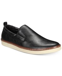 Alfani Ronnie Casual Slip Ons Created For Macy's Shoes Black