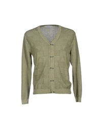 Hamaki Ho Knitwear Cardigans Men Military Green