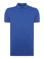 Barbour Men's International Polo Shirt Sea Blue