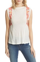 Free People Women's Marcy Tank Ivory