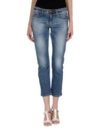 Individual Denim Denim Trousers Women Blue
