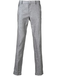 Hugo Boss Tapered Slim Fit Trousers Grey