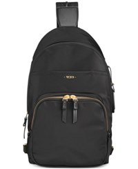 Tumi Voyageur Nadia Convertible Backpack Sling Black