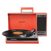 Crosley Spinnerette Usb Turntable Red