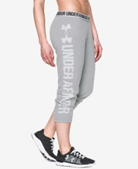 Under Armour Favorite Fleece Capri Pants True Grey Heather