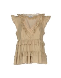 Moschino Cheap And Chic Blouses Beige