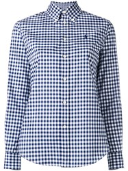 Polo Ralph Lauren Checked Button Down Shirt Blue