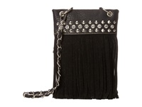 Mandf Western Fringe Crossbody Black Cross Body Handbags